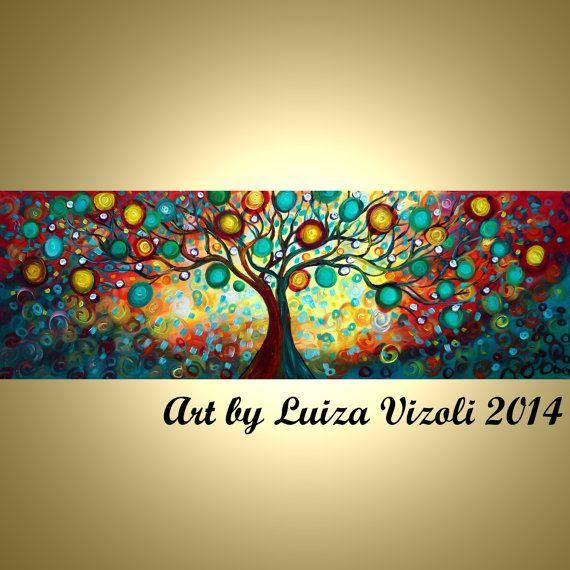 72 abstracto árbol inmenso paisaje caprichoso gran por LUIZAVIZOLI