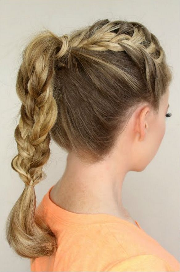 French Braid Step By Step Tutorials: https://sobotips.wordpress.com/2016/06/06/french-braid-step-by-step-with-pictures/