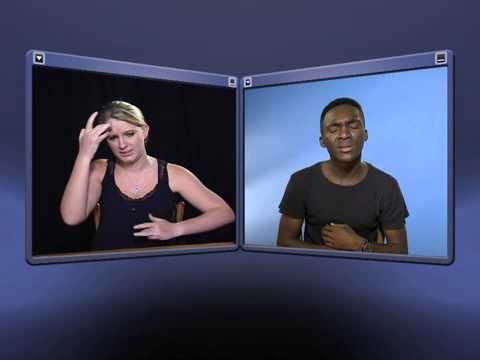 DTV South African Sign Language Lessons - Illness