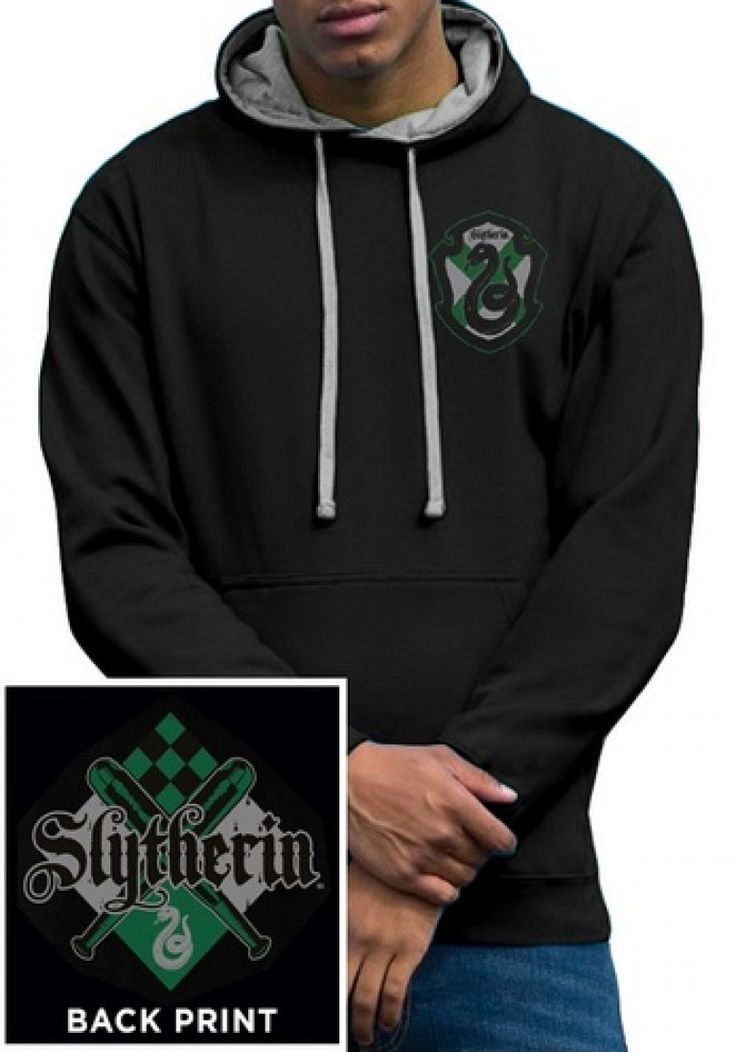 Harry Potter House Slytherin Hoodie