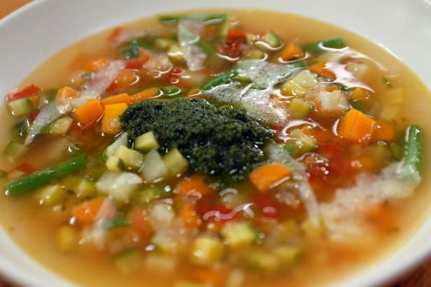 Get Pistou Soup Recipe from Cooking Channel