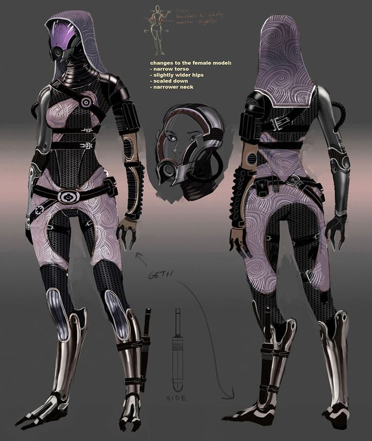 Mass Effect Art,   Tali'Zorah nar Rayyah, futuristic clothing, cyberpunk art