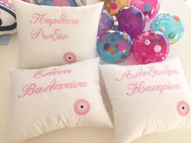 personalized baby pillows by cotton prince