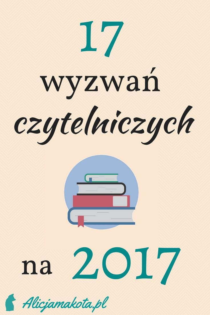 17 wyzwań czytelniczych na 2017 rok // #książki #książka #book #bookchallenge