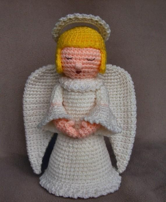 Looking for your next project? You're going to love Crochet Angel by designer WolfDreamer.