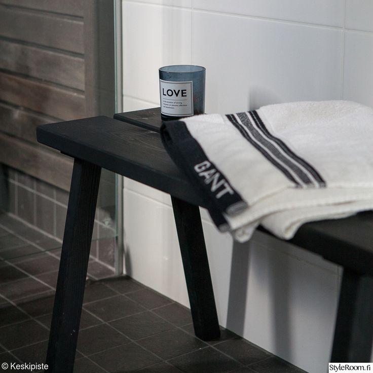 penkki,kylpyhuone,h&m home,gant,kylpyhuoneen sisustus