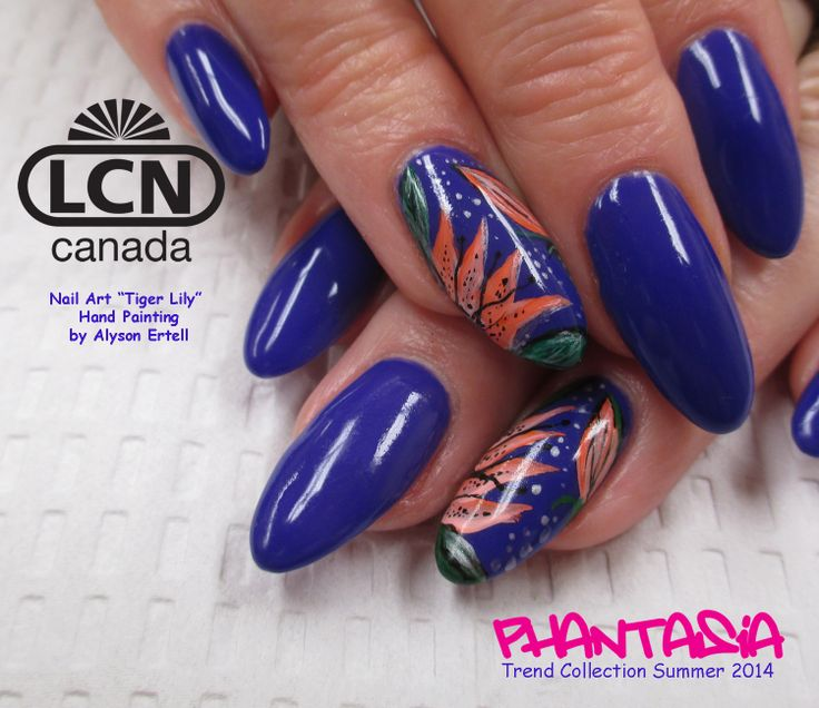 30 best lcn nails trend colour collections images on pinterest lcns new 392 crazy blueberry from the phantasia collection lcn prinsesfo Image collections