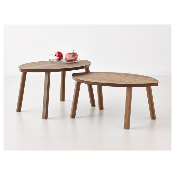 STOCKHOLM Τραπέζια ζιγκόν, σετ 2 τεμ. - IKEA