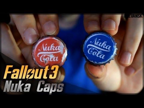Nuka Cola Caps (Chapas) // Fallout 3 // Props Travel Kit Tutorial