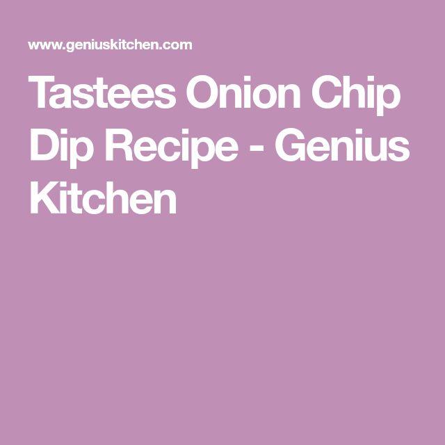 Tastees Onion Chip Dip Recipe - Genius Kitchen