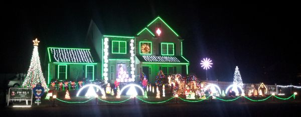 Lovely Christmas Lights, located at 2 Patricia Drive in Gilbertsville. See more photos and video of the display a http://lovelychristmaslights.com/