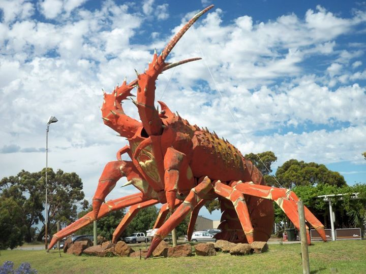 """The Big Lobster AKA """"Larry"""", Kingston, SA - Photo by Princess Nomi"""