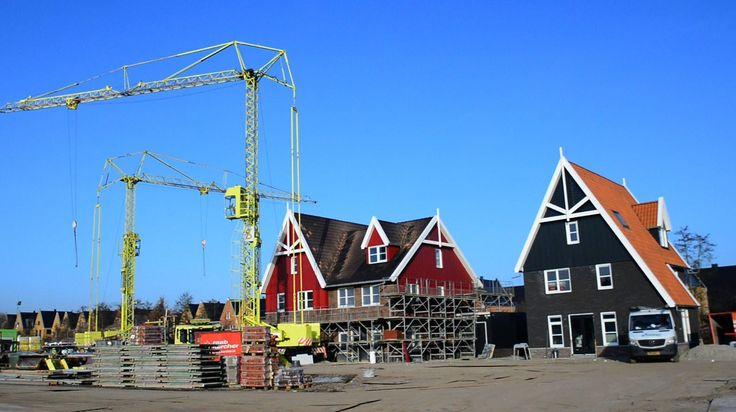 'We modelleren het hele bouwproces' » Bouwwereld.nl.Nautisch Eiland in Vathorst Amersfoort telt 22 woningen geïnspireerd op de traditionele huizen in de Zaanstreek.  febr 2017