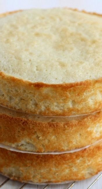 How to Bake Flat Cake Layers | Cocina Adicto