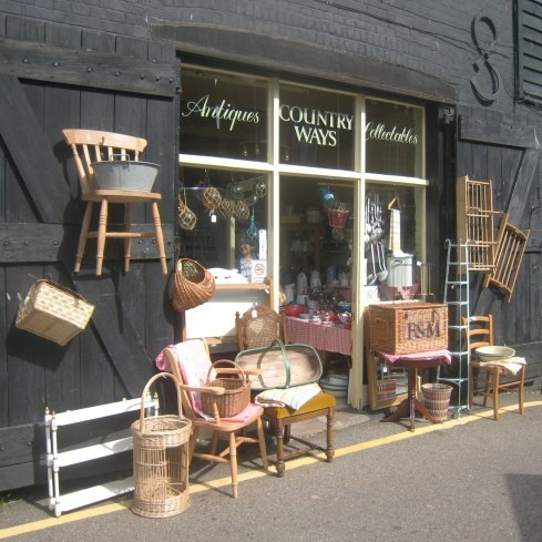Just one of the wonderful and huge arrary of antique shops to be found in Rye East Sussex