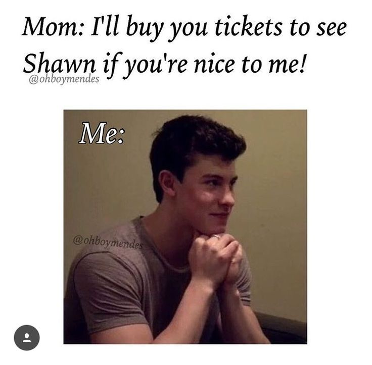 I would cry if  my mum said that