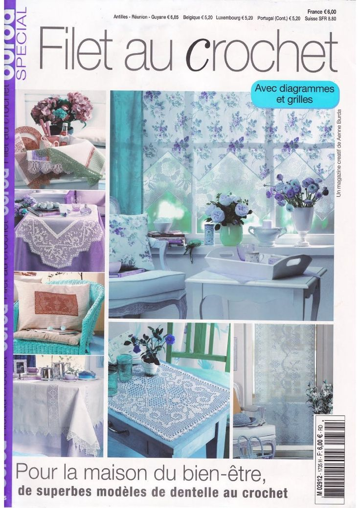 BURDA SPECIAL - FILET AU CROCHET