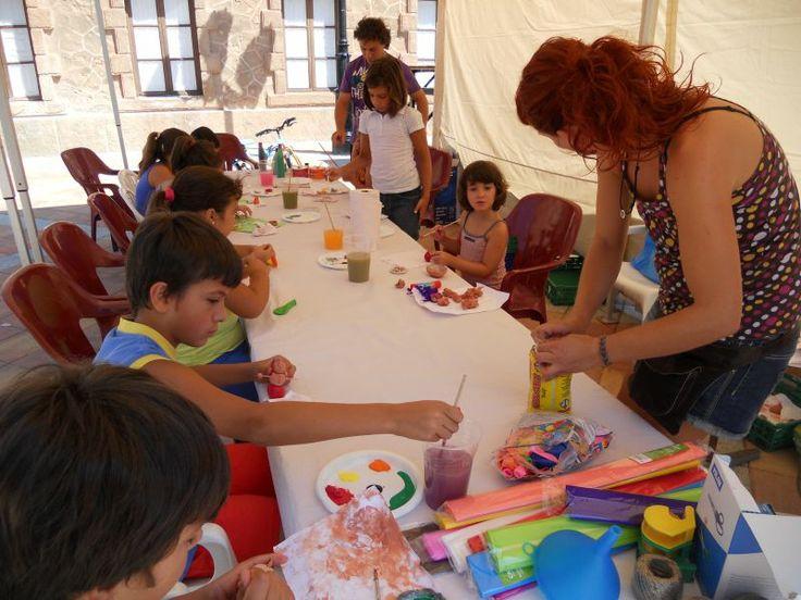 Taller de cerámica para niños