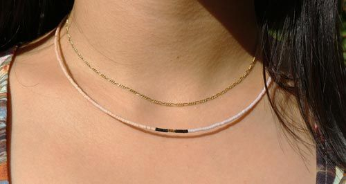 Delica halskæde