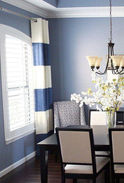 Pretty blue room