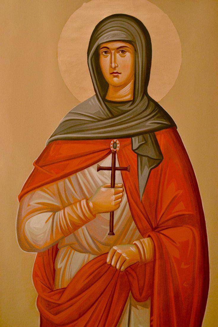 St. Theodora of Sihla by Daniela Serba