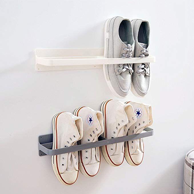 Amazon Com Esdella Shoes Rack Organizer Mounted Wall Storage