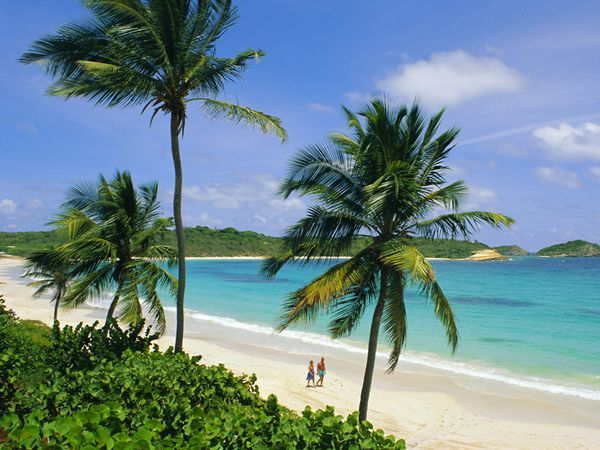 Half Moon Bay, Antigua. So pretty. We have been to this beach many times.