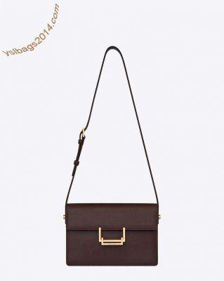 Designer YSL Classic Medium Lulu Bag in Bordeaux Leather | Shop ...