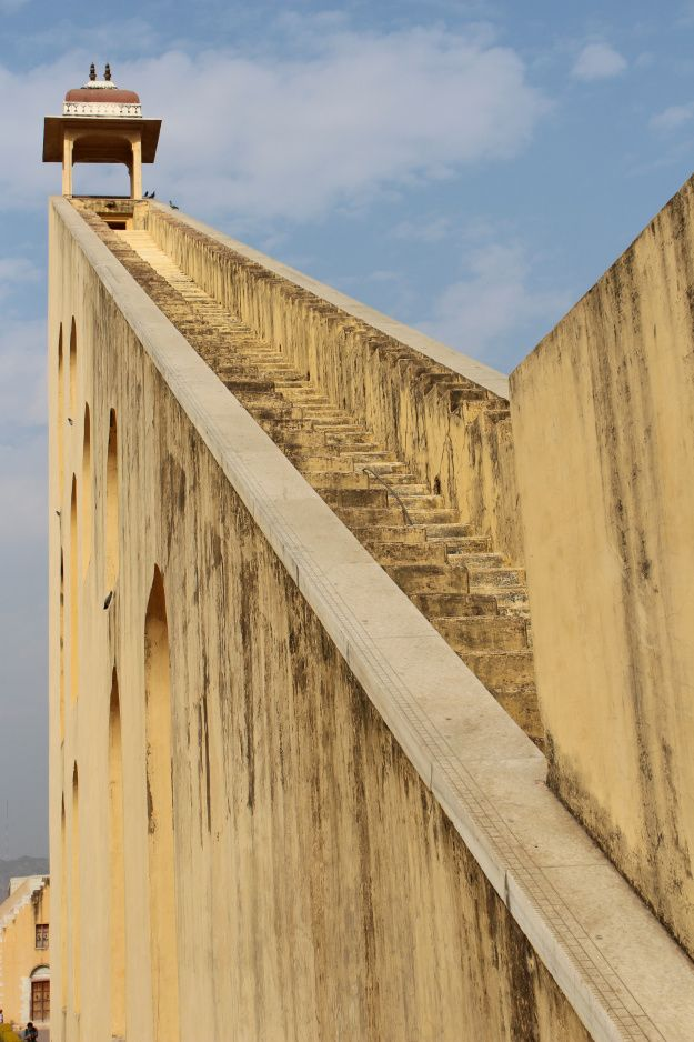 Astrology Park Observatory in Jaipur, India | www.WithTheGrains.com