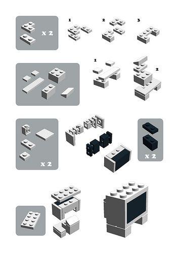 LEGO CRT Television
