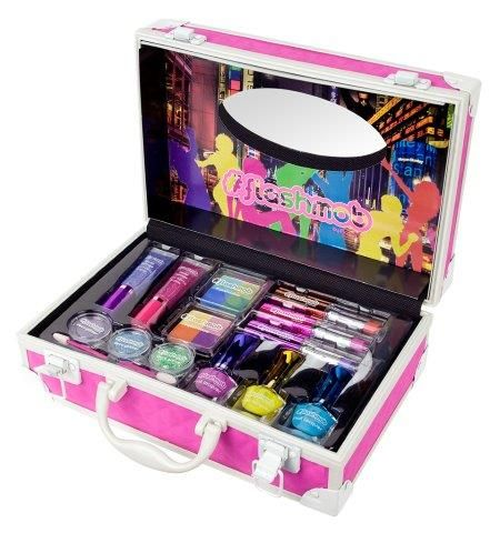 #pink #rosa #maletin #color #flashmob #moda #tendencias #maquillaje #makeup