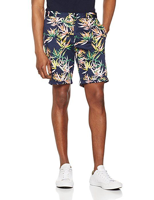 Scotch & Soda Men's Dense Twill Quality with All-Over Print Short : http://amzn.to/2qlXVUD