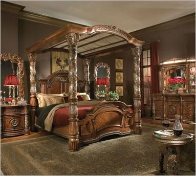 9 best Michael Amini bedroom furniture images on Pinterest | Bed ...