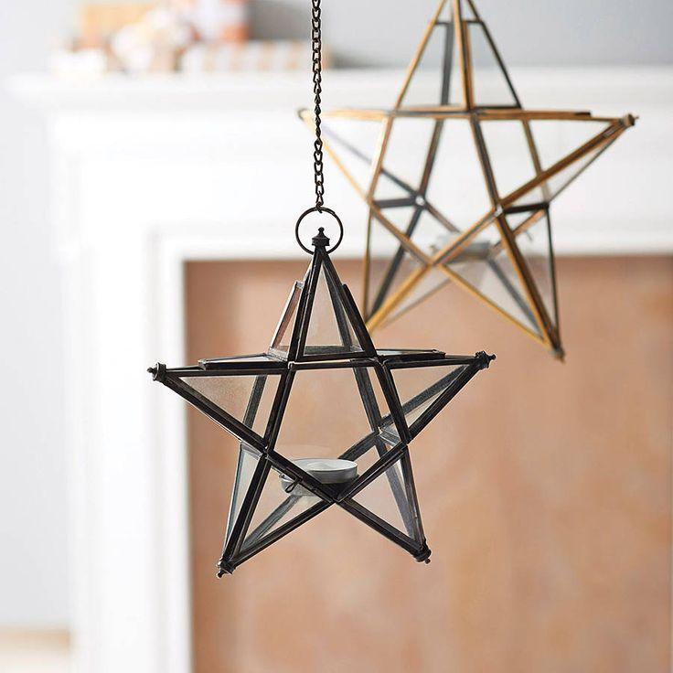antique glass star by nkuku | notonthehighstreet.com