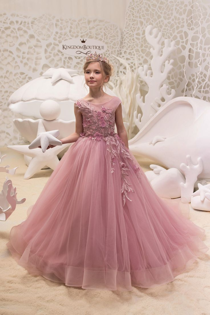 Blush <b>Pink Flower Girl Dress</b> - Birthday Wedding Party Holiday ...
