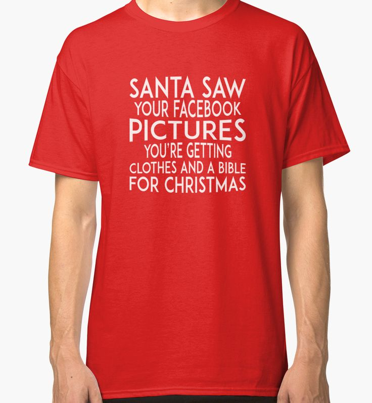 Santa saw your Facebook pictures by Black-Fox