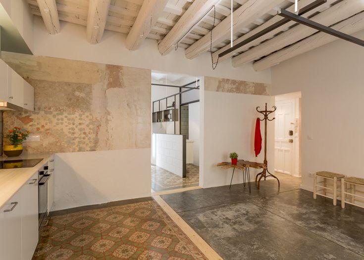 Barcelona apartment refurb by Nook   architecture   Dezeen