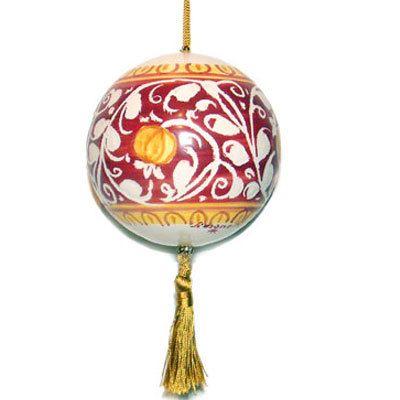 Ornato Rosso Vivo - Italian Christmas Ornament