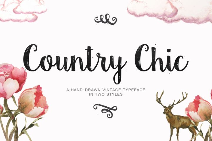 Country Chic Script from FontBundles.net