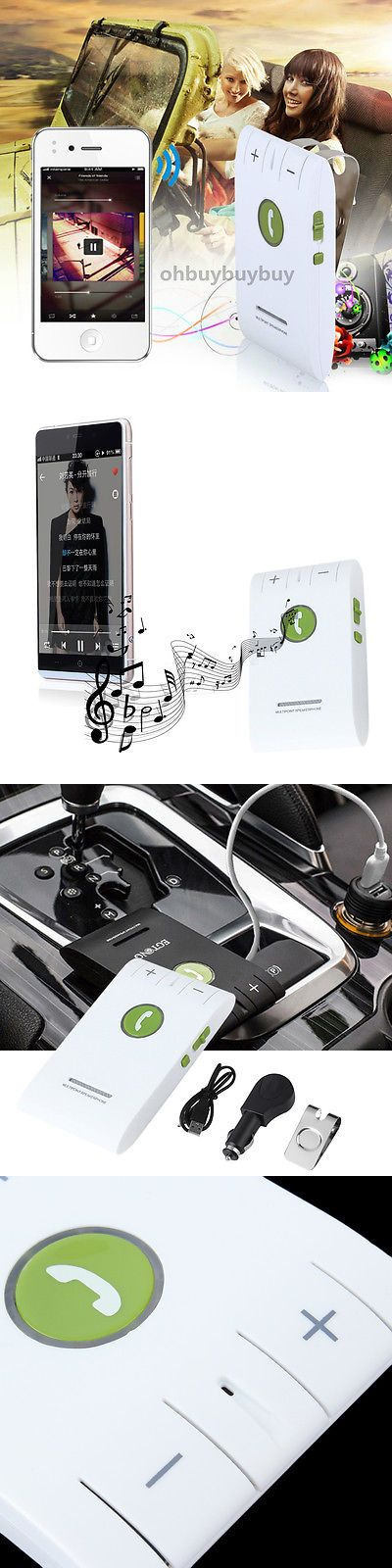 Bluetooth Handsfree Car Kits: Bluetooth Wireless Hands-Free Speaker Car Speaker Kit Visor Clip For Phone Usa Y -> BUY IT NOW ONLY: $44.55 on eBay!
