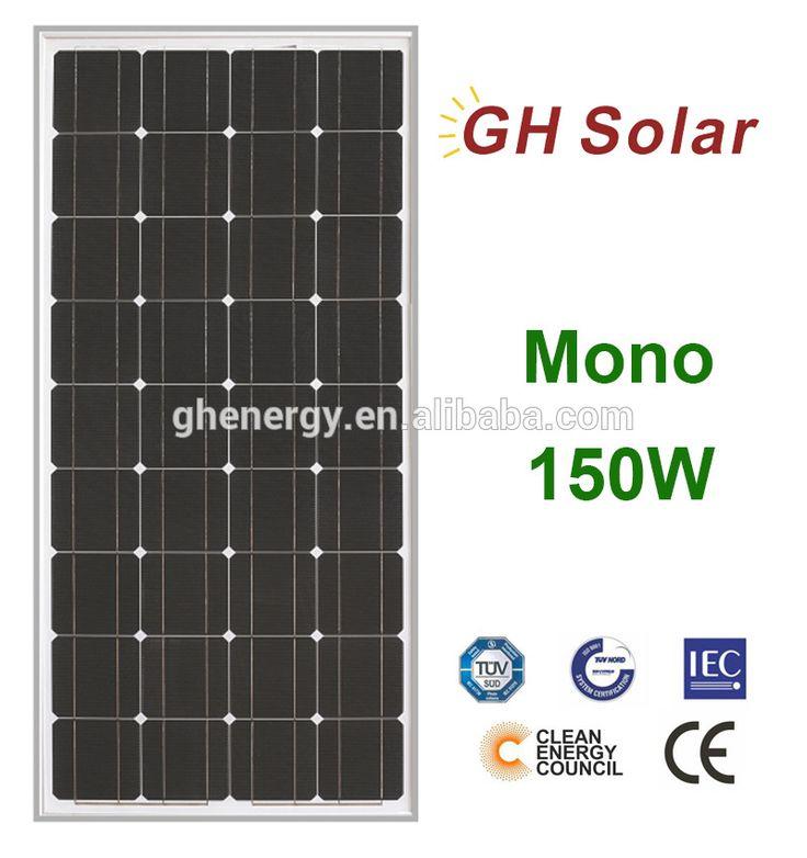 GH SOLAR- best price solar panels solar panel manufactures sunpower solar panels