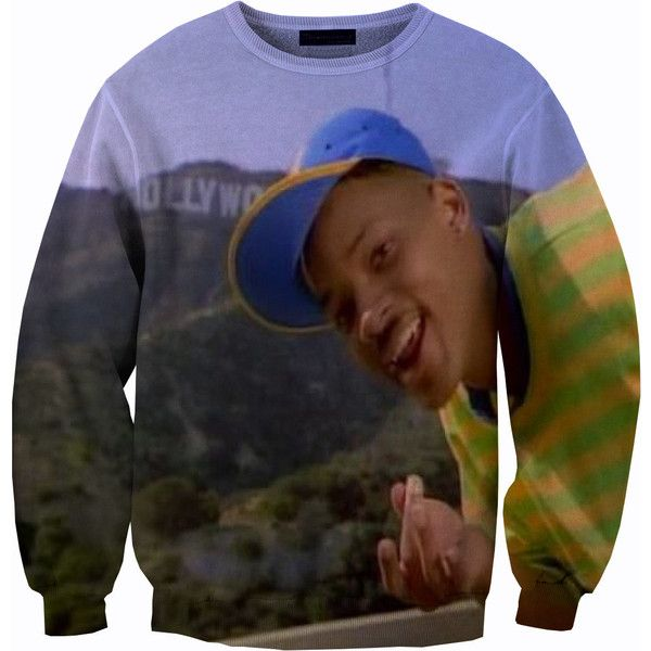 Will Smith Fresh Prince Of Bel Air Sweater Crew neck Sweatshirt We make limited # of crew neck sweatshirts please fav or items and follow our shop for our all …