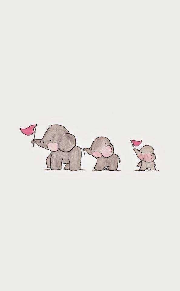 Picture Cutew 1 Elephant Wallpaper Wallpaper Iphone Cute Cute Backgrounds