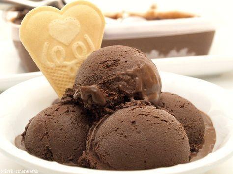 ESTE con azúcar invertido Helado de chocolate intenso » Recetas Thermomix | MisThermorecetas