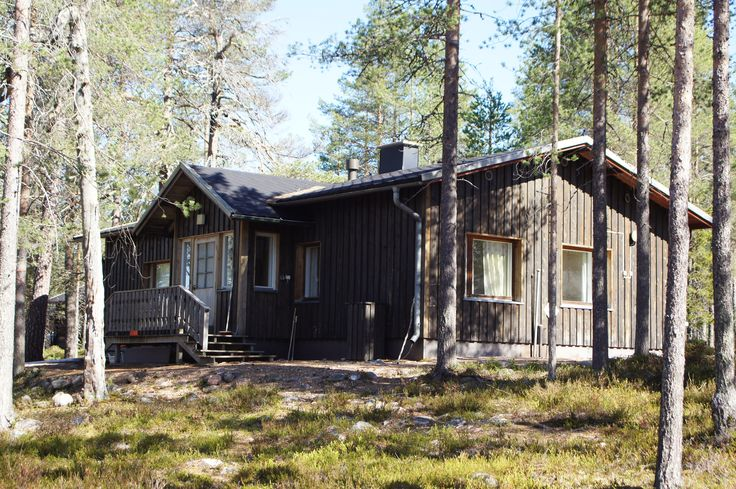 KOROTALO - This cottage can accommodate up to 5 people in 2 bedrooms. Comes with a good size kitchen, front room and an own, private sauna, shower and toilet. Pets allowed. Prices start from 30€/night/person. Email us at lapiosalmi@saukko.fi to get more info!