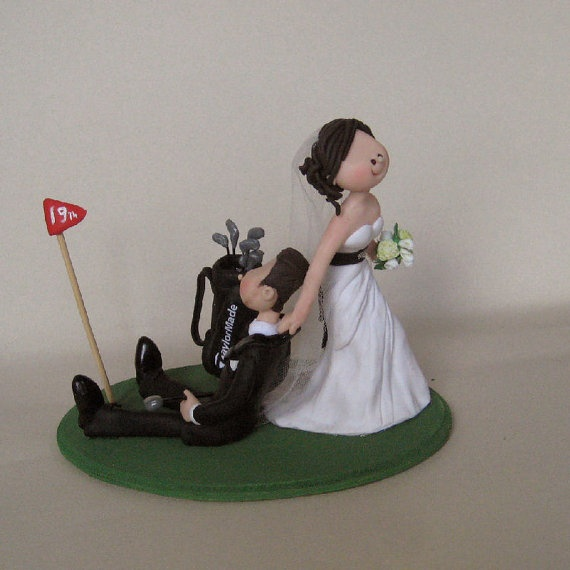golf themed wedding cake toppers golf wedding cake topper reserved by maraluiza on etsy 14845