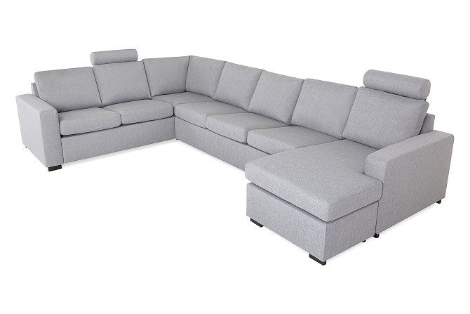 Crazy Hörnsoffa 4+2 med divan - Vändbar | Trademax.se
