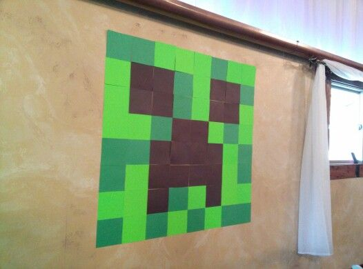 Minecraft Wall Decorations 21 best luke minecraft bedroom decor ideas images on pinterest