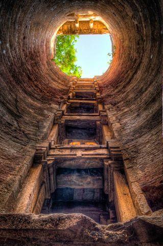 Sevasi step well, Vadodara, Gujarat, India - ancient Indian well