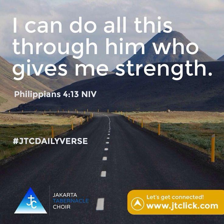 Philippians 4:13 #JTCDailyVerse